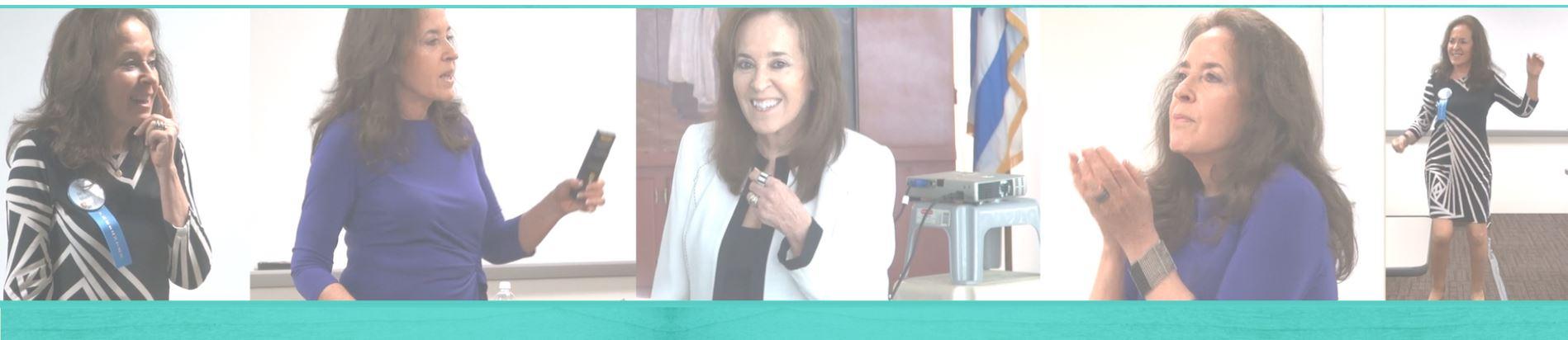 Photos of Dr. Sandy Gluckman Speaking