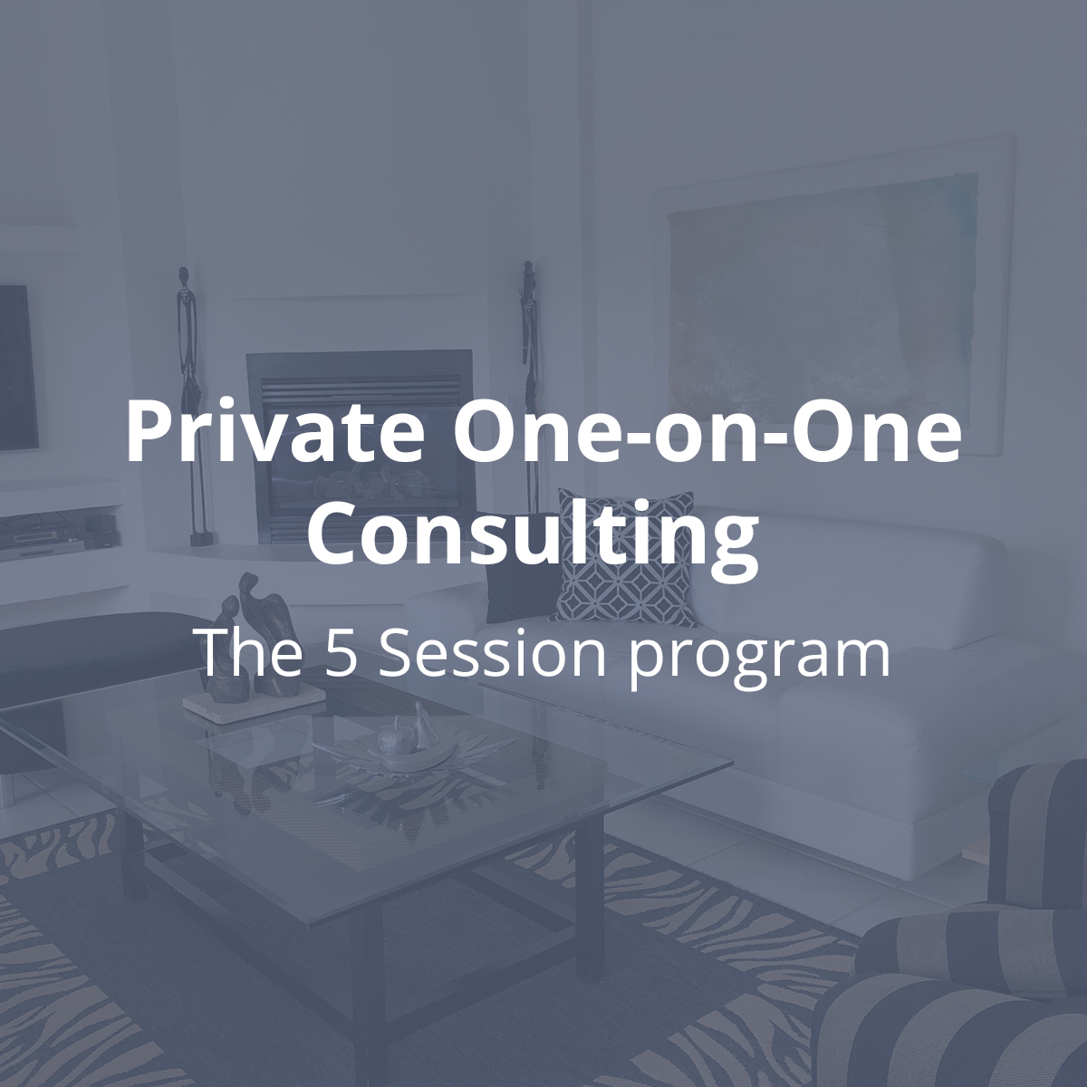 5 Sessions one on one consulting